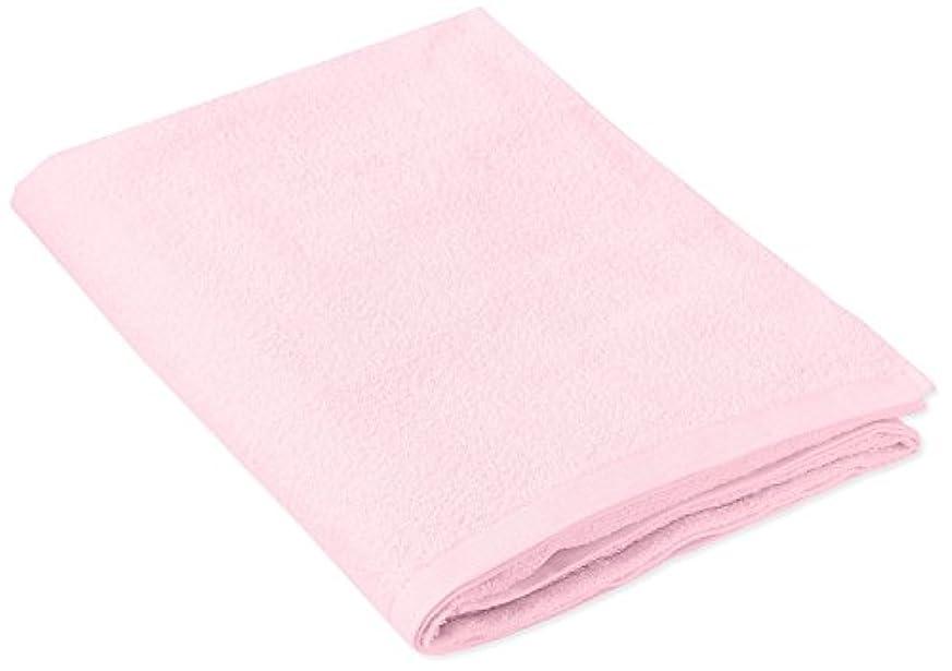 マニュアルストレッチ運命キヨタ 抗菌介護タオル(大判タオル1枚入) ピンク 80×135cm