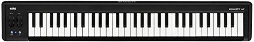 KORG 定番 ワイヤレス MIDIキーボード microKEY Air-61 音楽制作 DTM 省スペースで自宅制作に最適 すぐに始められるソフトウェアライセンス込み 61鍵