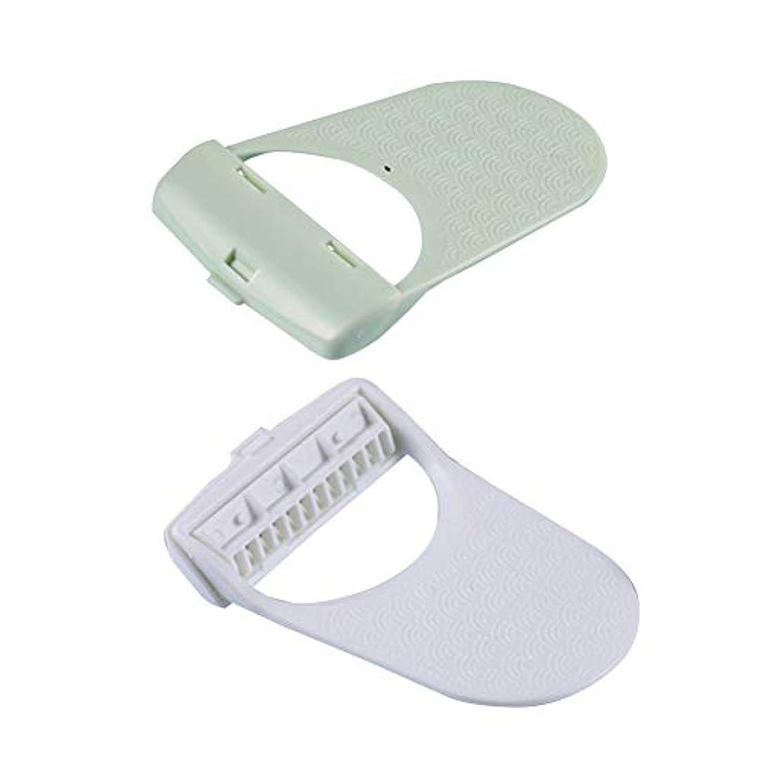リスナーモニカオープナー多足脇の下の毛の脱毛器の取扱説明書を使用するカミソリの刃を運ぶ二足