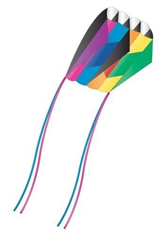 X-Kites Skyfoil Frameless Parafoil Kite: Rainbow [並行輸入品]