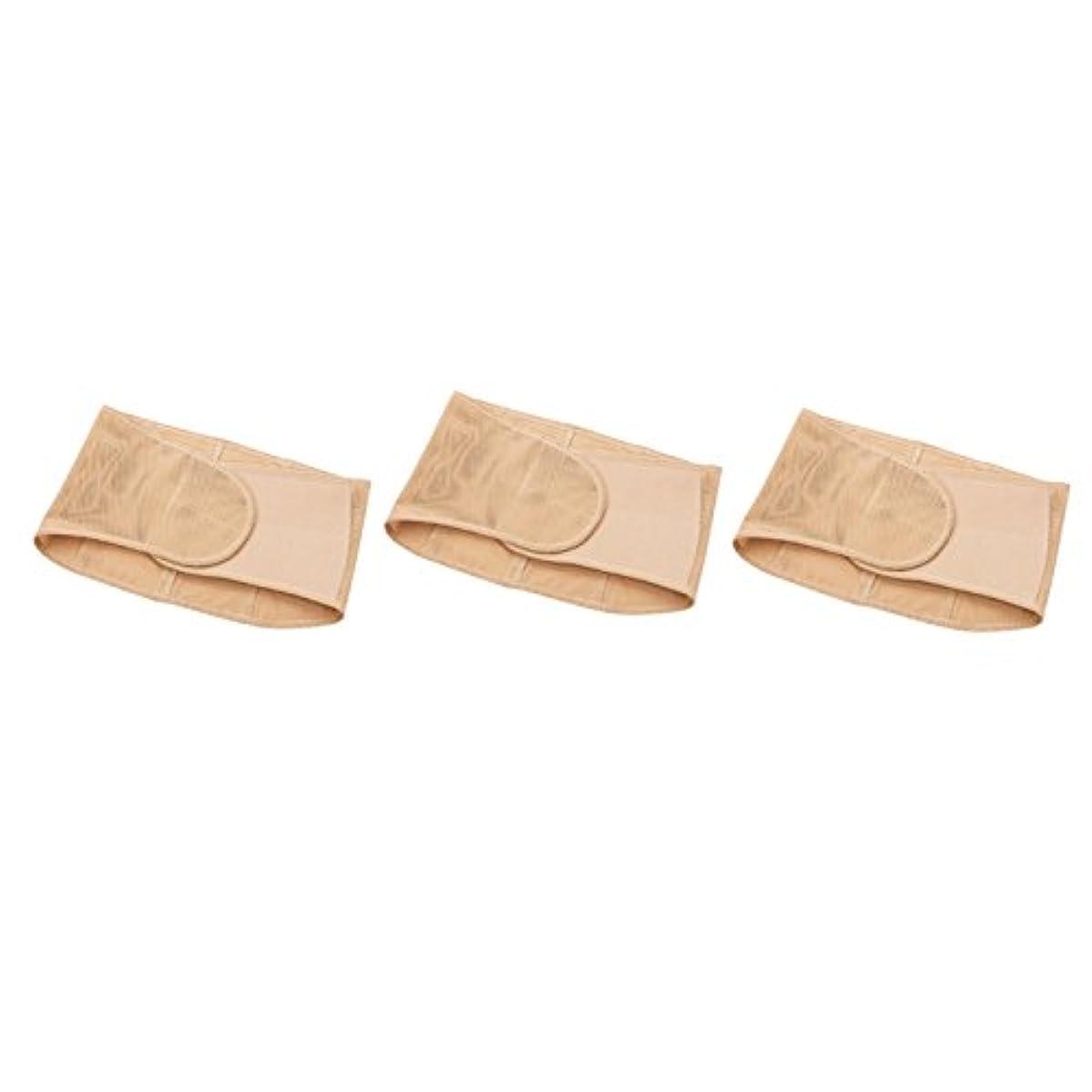 バーガー調停者出版骨盤安定下腹すっきり薄型スーパー腰ベルト(3枚組) (LL ~ 3L)