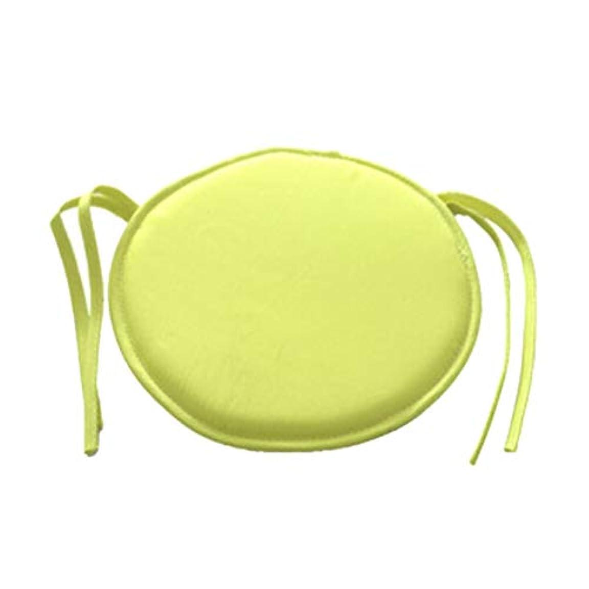 沿ってレーダー入口LIFE ホット販売ラウンドチェアクッション屋内ポップパティオオフィスチェアシートパッドネクタイスクエアガーデンキッチンダイニングクッション クッション 椅子
