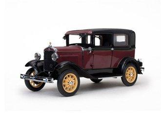 ★ サンスター [1/18][6102]フォード モデル A 31 Tudor ルベライト レッド ミニカー