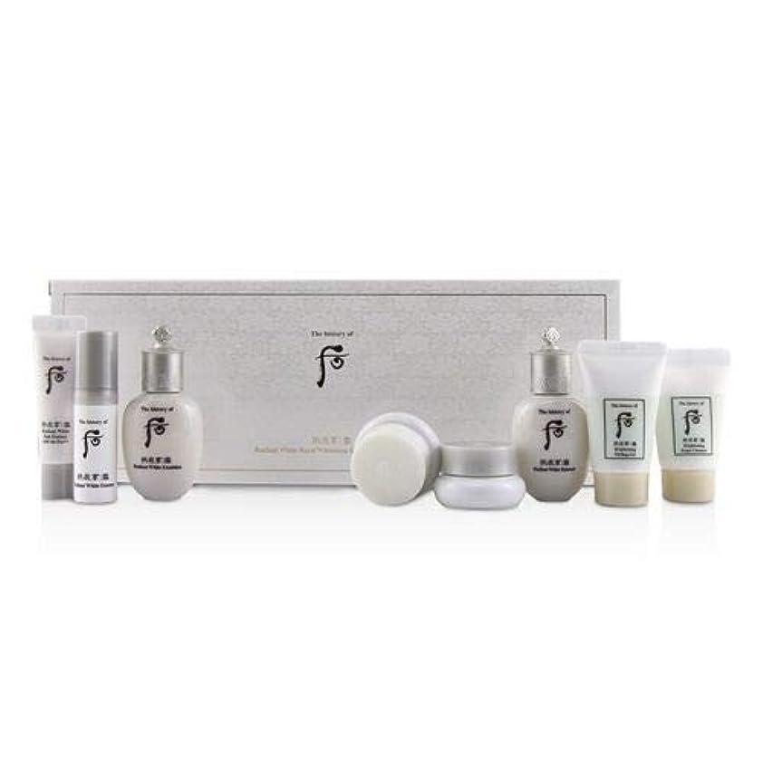 消毒剤対角線平行后 (The History Of 后) Gongjinhyang Seol Radiant Whitening 8 pcs Gift Set: Balancer 20ml + Emulsion 20ml + Essence...