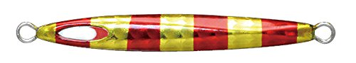 JACKALL(ジャッカル) メタルジグ ルアー チビメタ タイプ-I 10g レッドゴールドストライプ