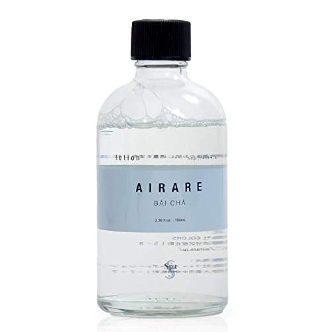 鉄道無関心ストレスの多いアール ローション 化粧水 AIRARE BAICHA 白茶と豊富なアルプスのミネラルを配合