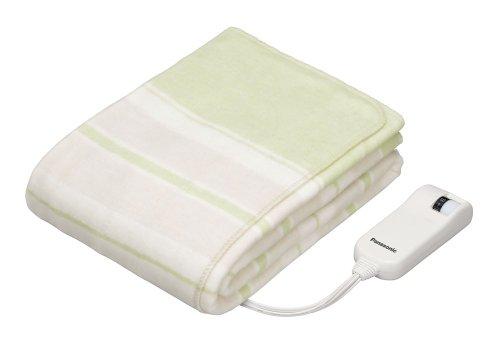 パナソニック 電気しき毛布 140×80cm SEK抗菌防臭加工 グリーン DB-U11T-G