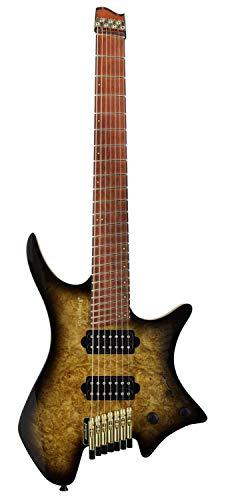 Strandberg ストランドバーグ エレキギター Boden J7 Custom Burl Maple (Tiger Eye)