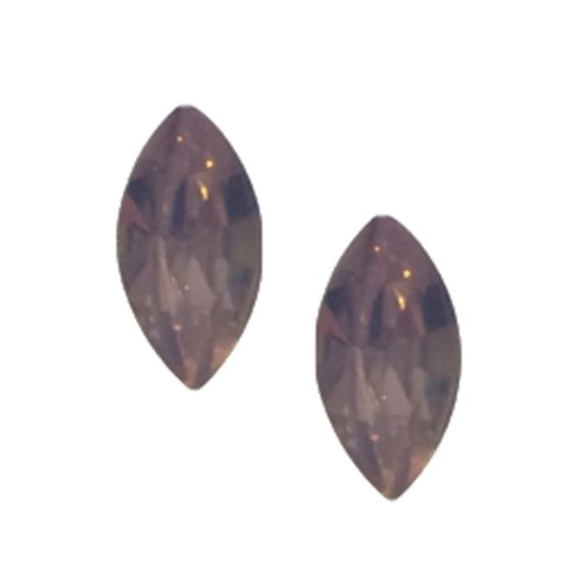 非アクティブペレグリネーション正しくPOSH ART ネイルパーツ馬眼型 3*6mm 10P ピンクオパール
