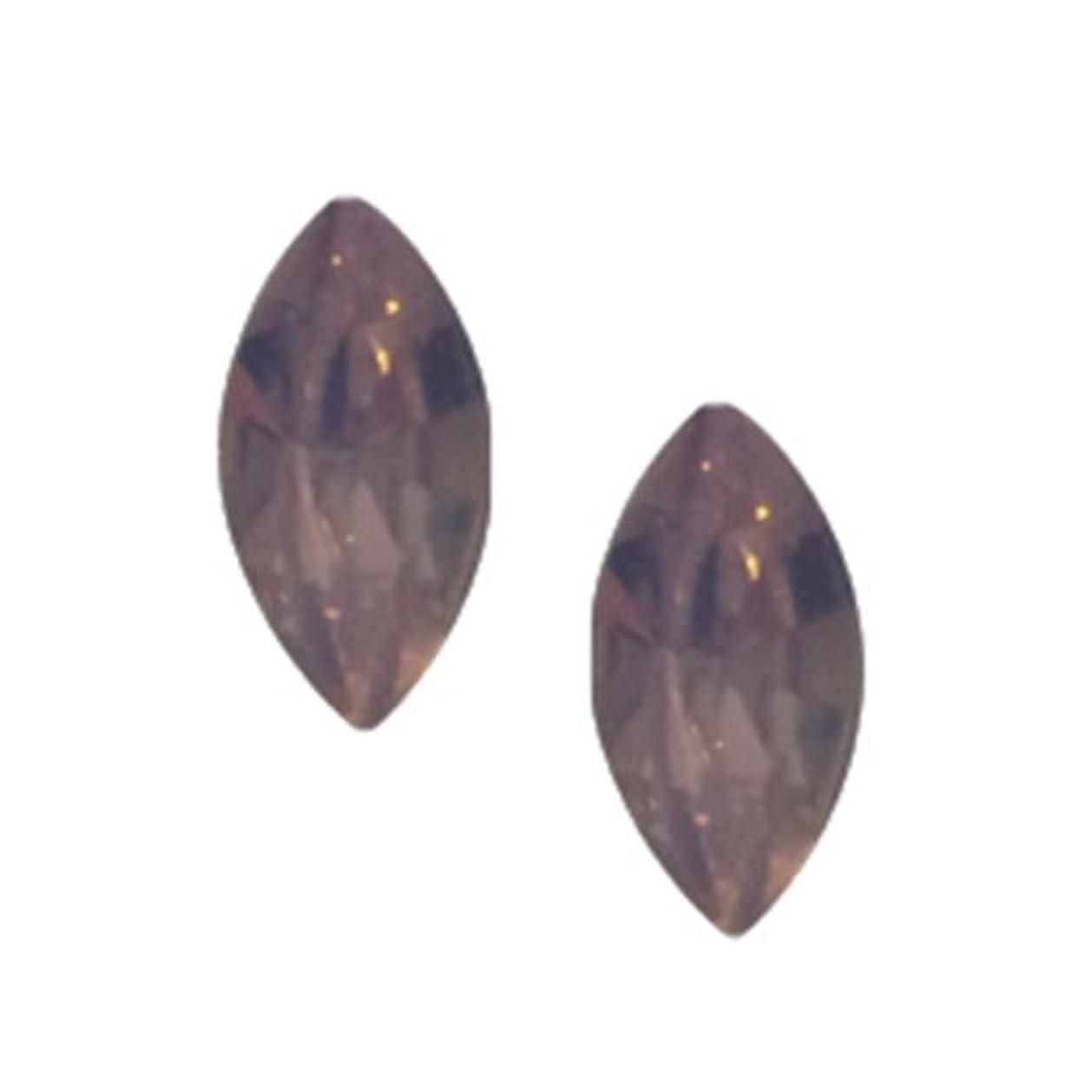 矛盾ピザアクセントPOSH ART ネイルパーツ馬眼型 3*6mm 10P ピンクオパール