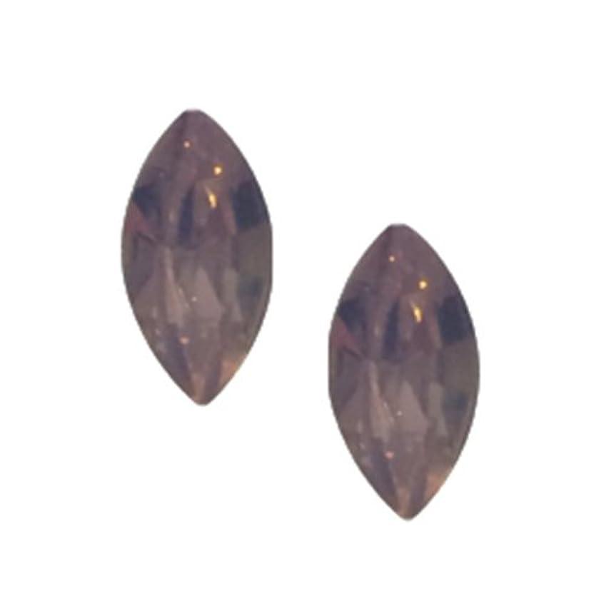 POSH ART ネイルパーツ馬眼型 3*6mm 10P ピンクオパール