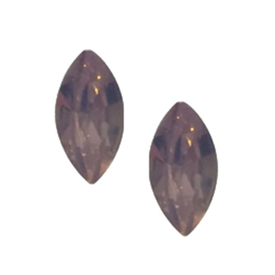 胚芽複合傀儡POSH ART ネイルパーツ馬眼型 3*6mm 10P ピンクオパール
