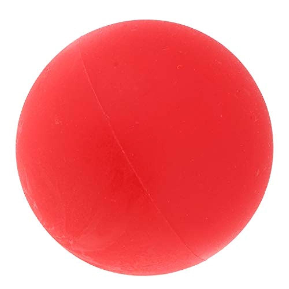 Hellery マッサージボール ヨガボール トリガーポイント 筋膜リリース 緊張緩和 健康グッズ 全4色 - 赤