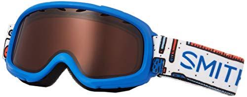 SMITH OPTICS(スミス) 眼鏡対応 ジュニア ダブルレンズ スノーゴーグル スキー スノーボード 子供用 3〜8才 GAMBLER TOOLBOX F