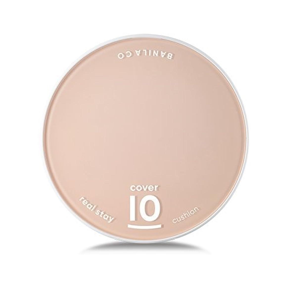 たまにメーター違反[Renewal] BANILA CO Cover 10 Real Stay Cushion 15g + Refill 15g/バニラコ カバー 10 リアル ステイ クッション 15g + リフィル 15g (#BE10...