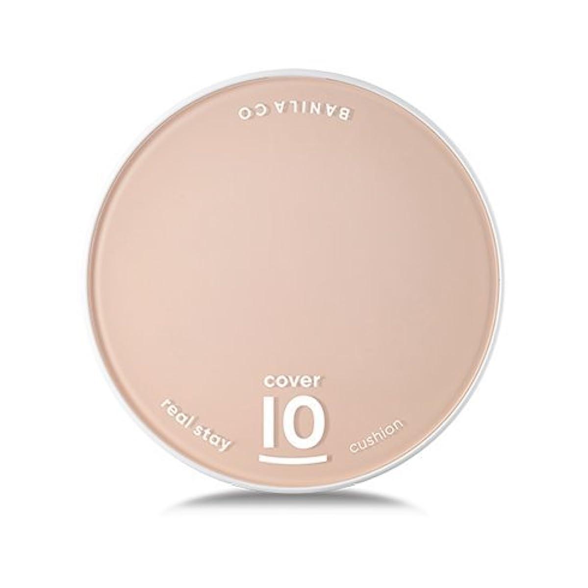 チケットハム和解する[Renewal] BANILA CO Cover 10 Real Stay Cushion 15g + Refill 15g/バニラコ カバー 10 リアル ステイ クッション 15g + リフィル 15g (#BP15...