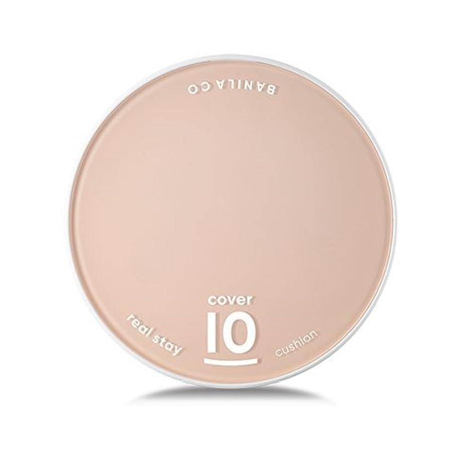 イベント安全性電子[Renewal] BANILA CO Cover 10 Real Stay Cushion 15g + Refill 15g/バニラコ カバー 10 リアル ステイ クッション 15g + リフィル 15g (#BE20...