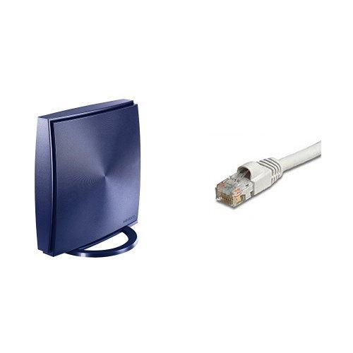 I-O DATA Wi-Fi 無線LANルータ Nintendo Switch 動作確認済 11ac 1733Mbps ペイバック保証&土日サポート WN-AX2033GR + LANケーブル 2m LC-C6/2M セット