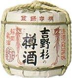 長龍酒造 吉野杉の樽酒 壺詰 3600ml.e お届けまで7日ほどかかります