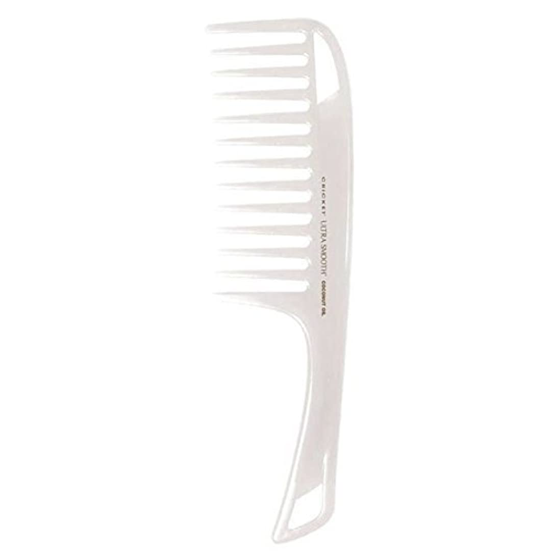 ピン逮捕やむを得ないCricket Ultra Smooth Coconut Detangler Comb [並行輸入品]
