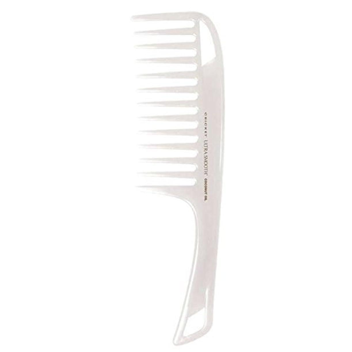 活性化警察冬Cricket Ultra Smooth Coconut Detangler Comb [並行輸入品]