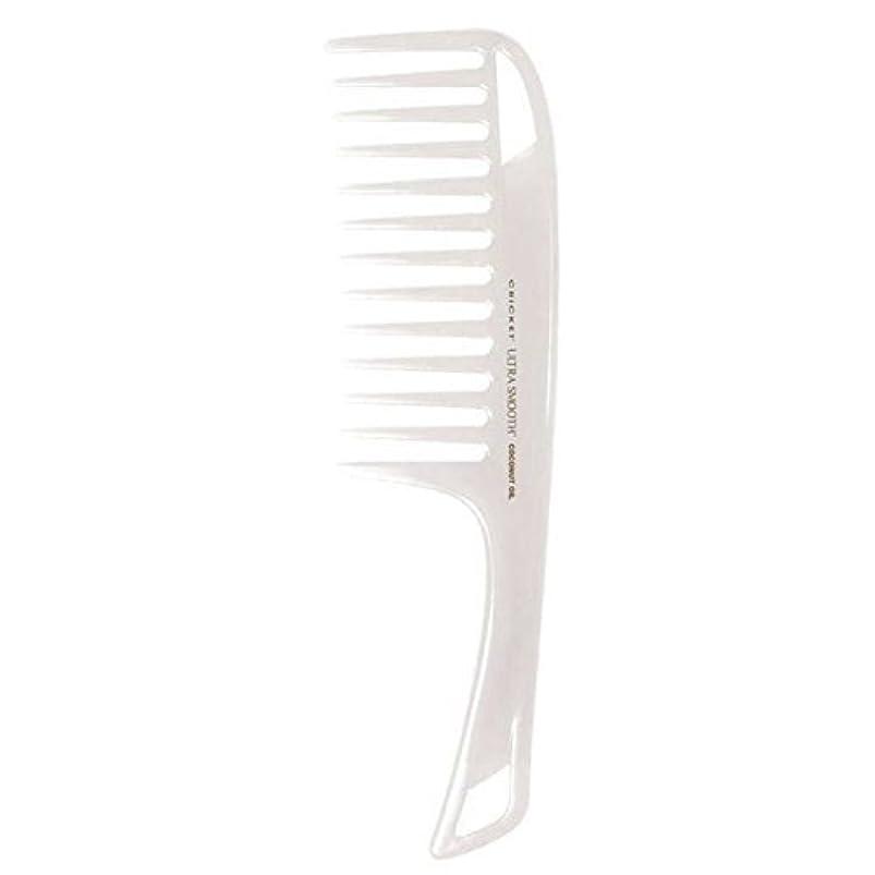 市の中心部贈り物に負けるCricket Ultra Smooth Coconut Detangler Comb [並行輸入品]