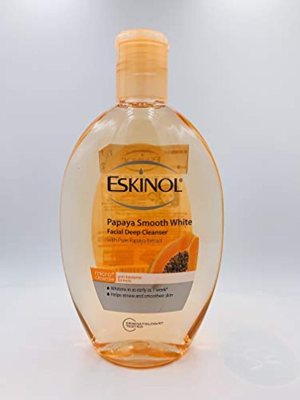 ギャラントリーランダム防ぐEskinol Naturals Papaya Facial Cleanser 7.6 Oz - 225 ml Bottle by Eskinol