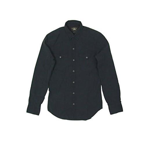 (ラルフローレンダブルアールエル) ralph lauren RRL ウエスタンシャツ/BLACK S [並行輸入品]