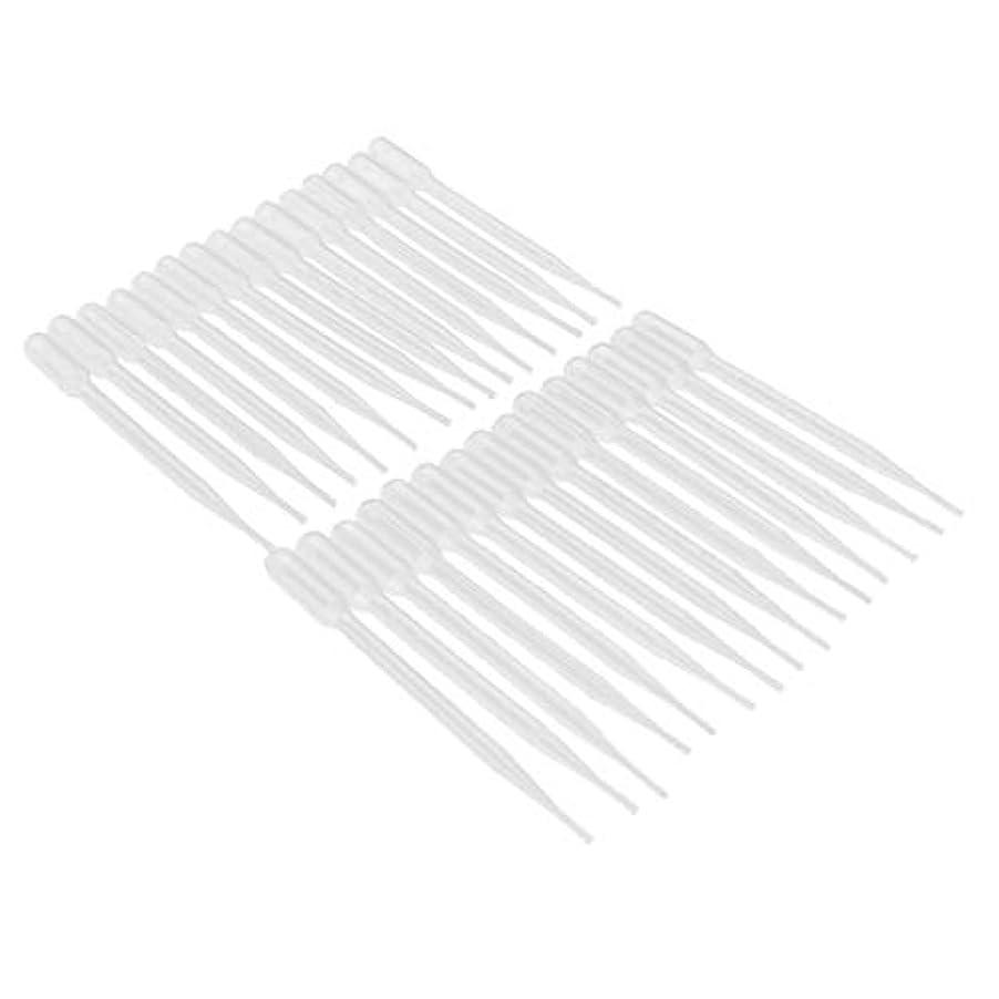 ボイラー食器棚苛性Perfeclan 約30個入 プラスチック トランスファーピペット 精油 プラスチック 移動ピペット 3サイズ選べ - 3ML
