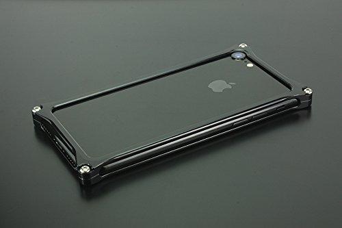 ソリッドバンパー for iPhone7 (ポリッシュブラック)