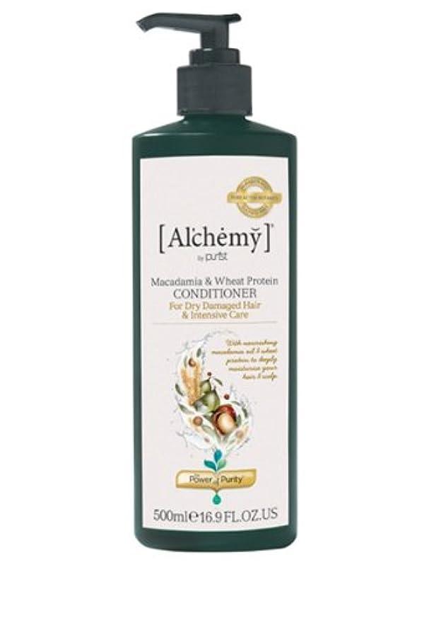 海港スーツサージ【Al'chemy(alchemy)】アルケミー マカダミア&ホイート(小麦) コンディショナー(Macadamia & Wheat Protein Conditioner)(ドライ髪用)500ml