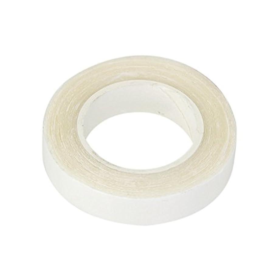 個性征服者過敏なSitrda かつら粘着テープ ダブルテーピングヘアエクステンション用両面接着テープウィッグ接着剤3mx1cm
