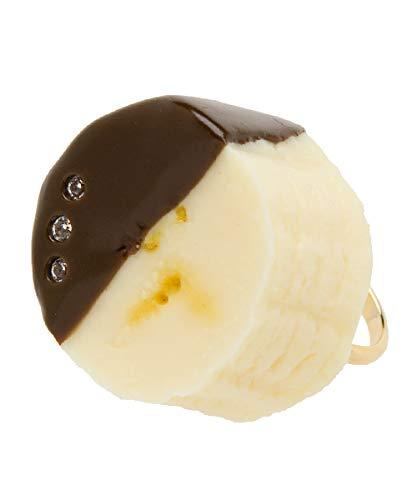 Q-pot. Parlor キューポットパーラー バナナチョコ リング