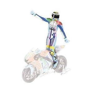 ミニチャンプス 1/12 フィギュア ライディング V.ロッシ MotoGP 2007 アッセン