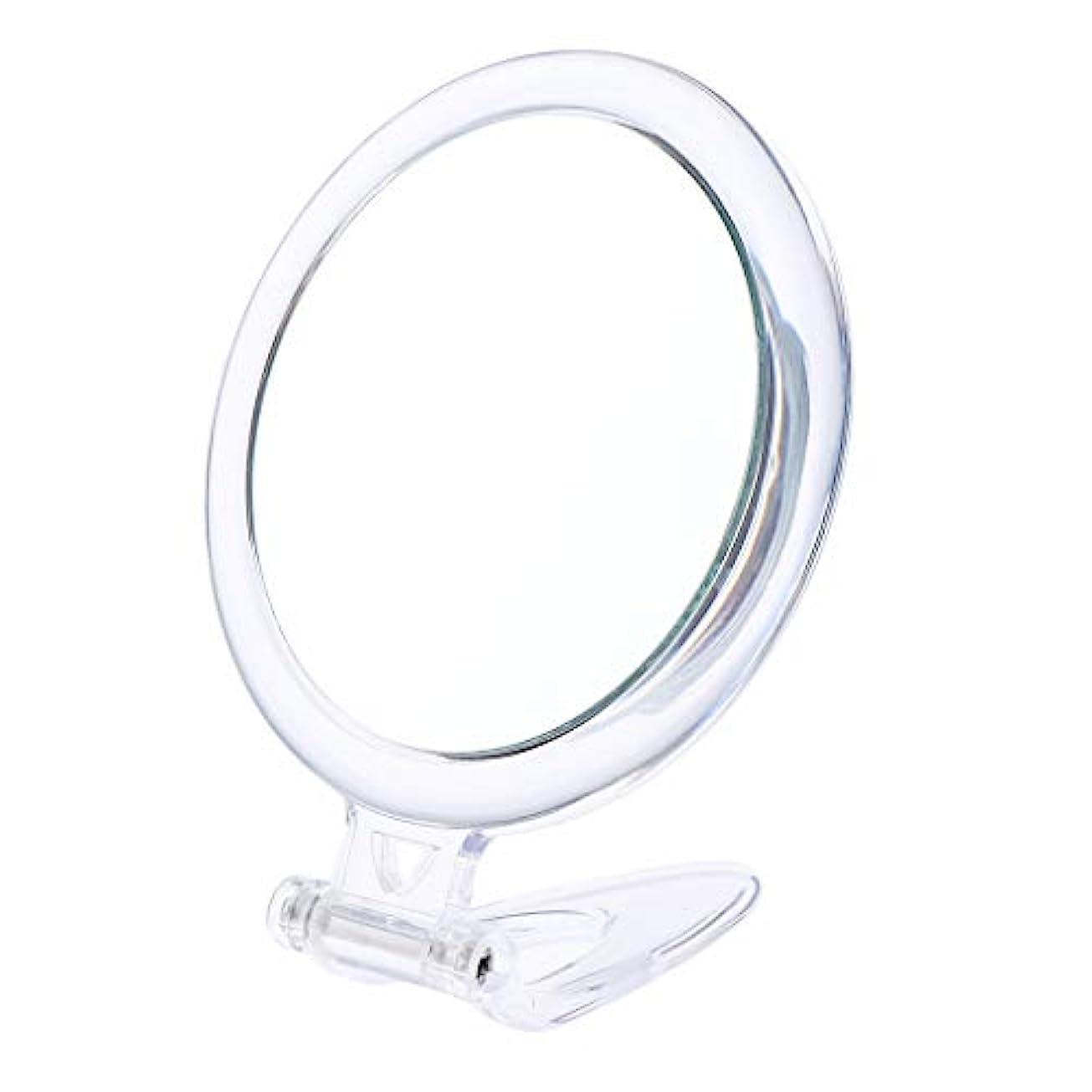 心臓怠けた文耐久性のある10倍拡大化粧鏡寮の洗面所の浴室の化粧鏡