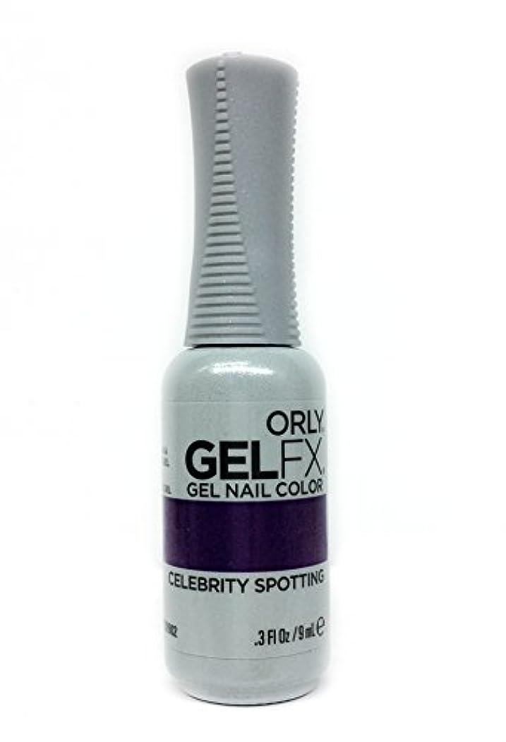 怠罰浮浪者Orly GelFX Gel Polish - Celebrity Spotting - 0.3oz / 9ml