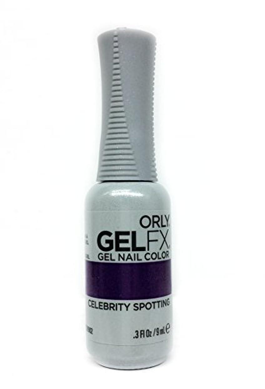 姿勢放課後価値のないOrly GelFX Gel Polish - Celebrity Spotting - 0.3oz / 9ml