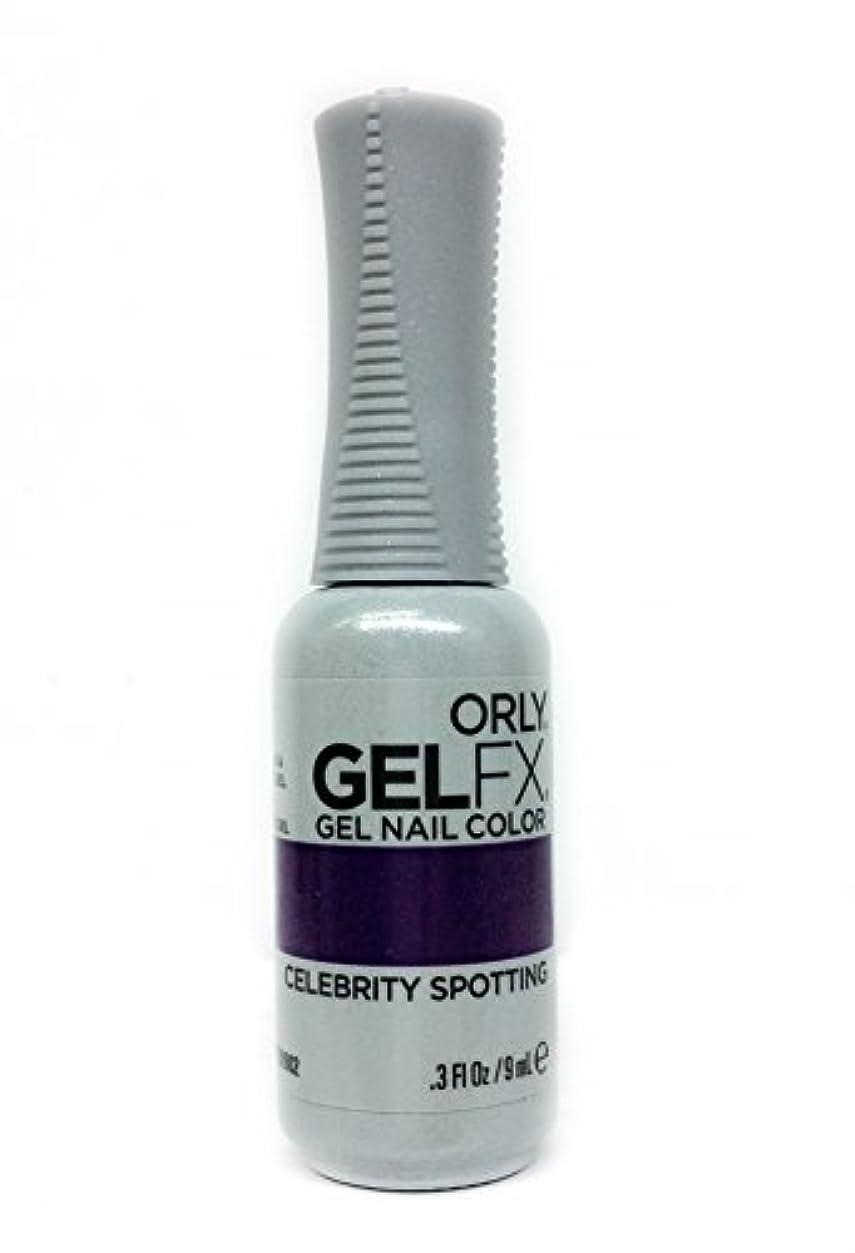 病的試用規制Orly GelFX Gel Polish - Celebrity Spotting - 0.3oz / 9ml