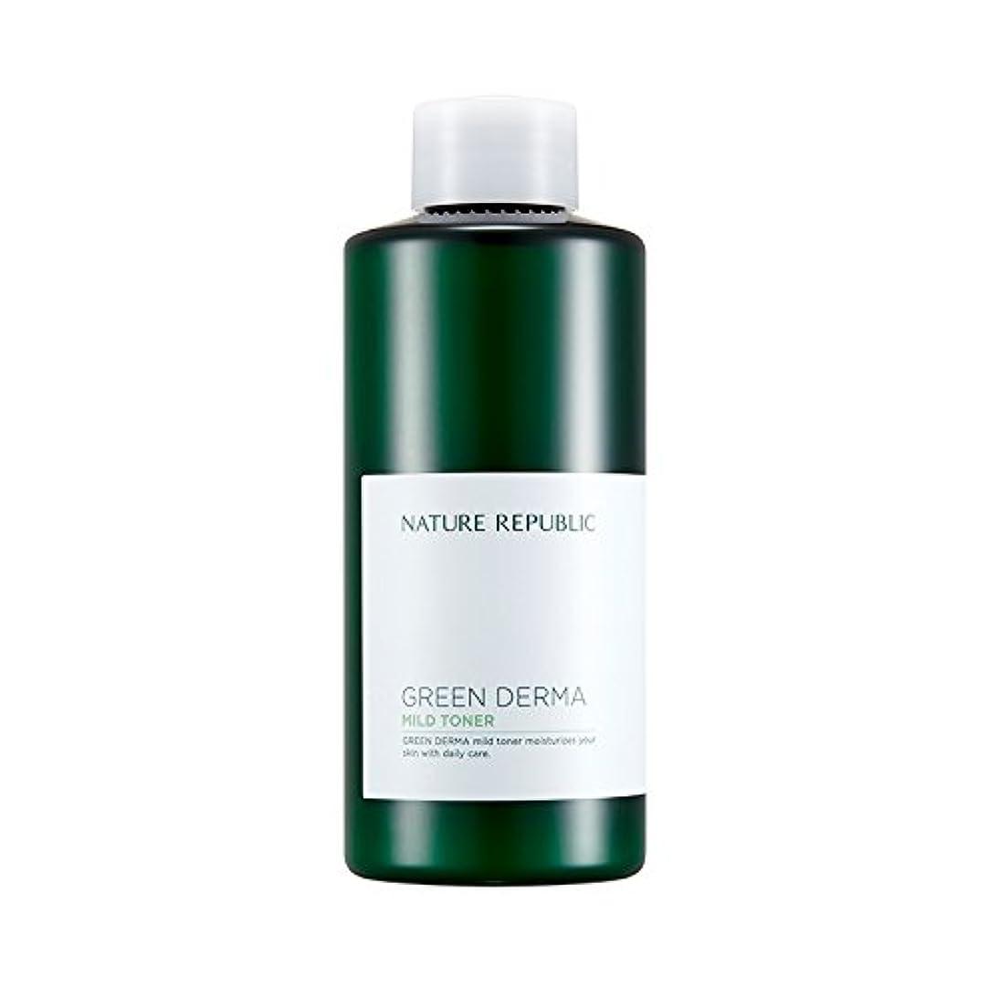 誤テセウス助けになるNATURE REPUBLIC Green Derma Mild Toner / ネイチャーリパブリック グリーンダーママイルドトナー 200ml [並行輸入品]