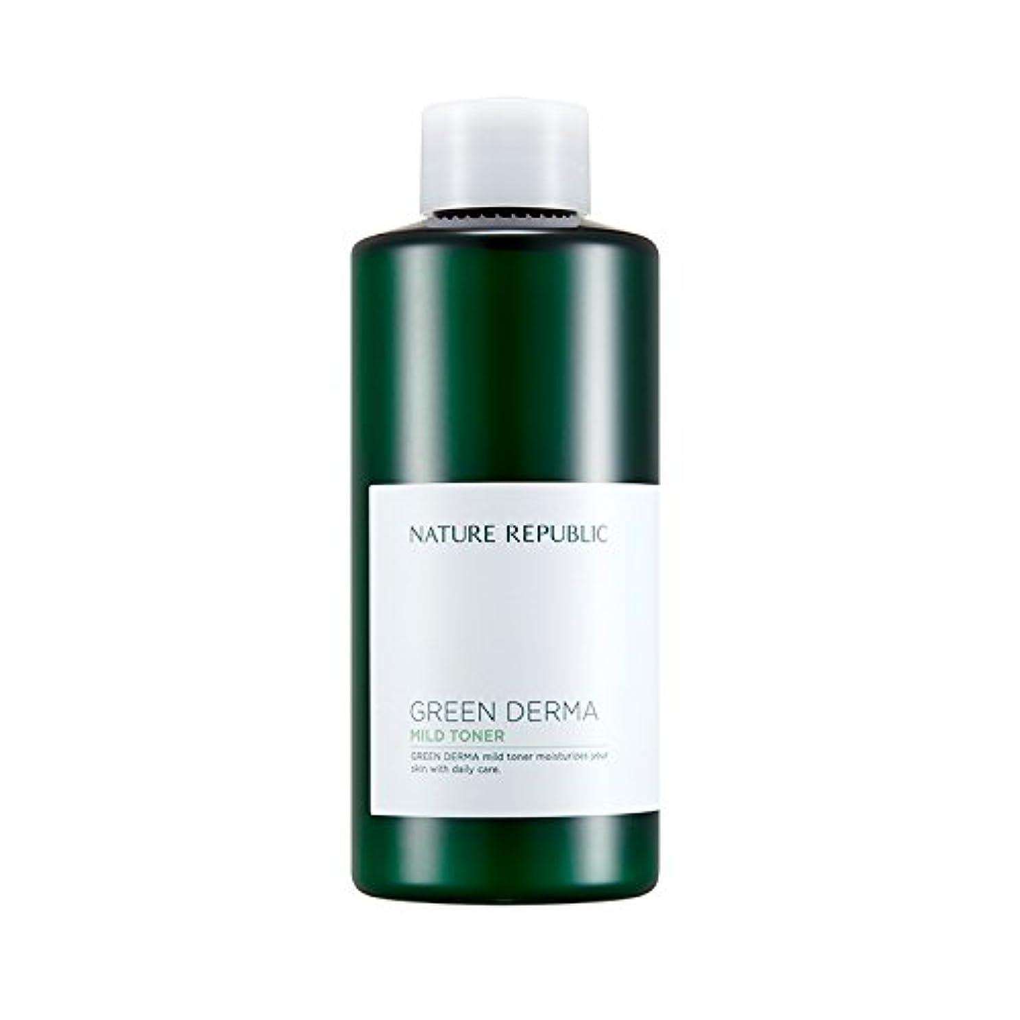 血統慣性真実NATURE REPUBLIC Green Derma Mild Toner / ネイチャーリパブリック グリーンダーママイルドトナー 200ml [並行輸入品]