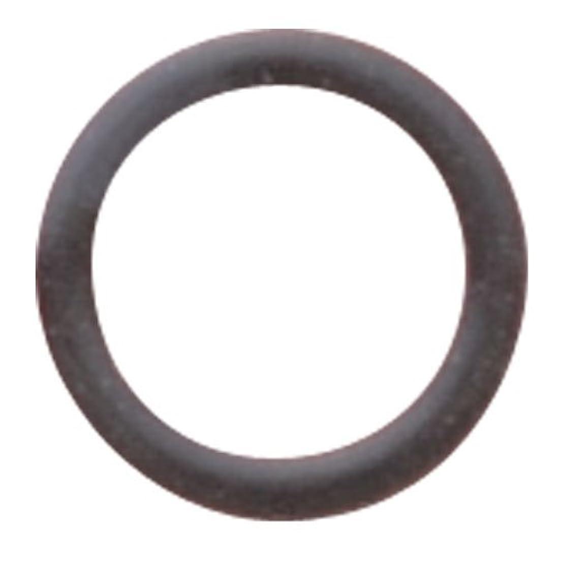 きしむ前提減衰リトルプリティー ネイルアートパーツ フラットリング ブラック 20個 LP-0096B