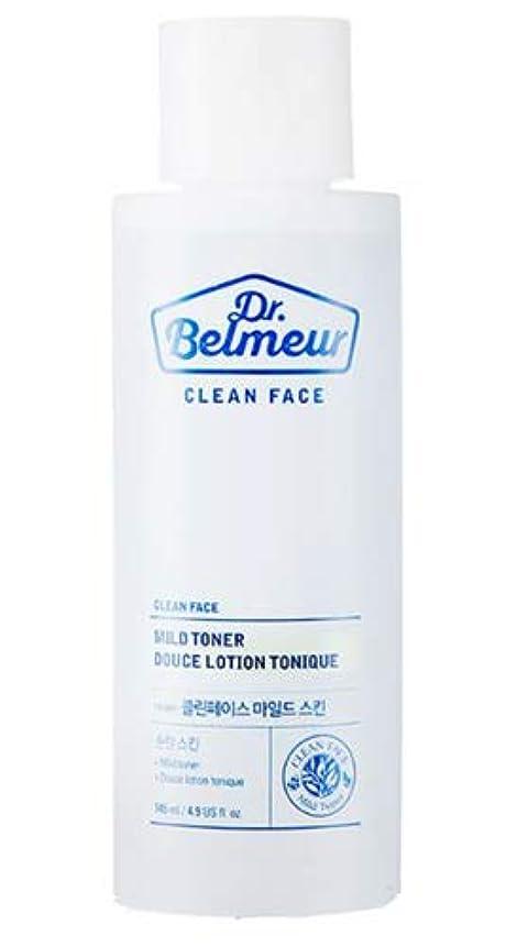 剣売上高処理[ザ?フェイスショップ] THE FACE SHOP [ドクターベルモ クリーンフェース マイルド トナー 145ml] (Dr.Belmeur Clean Face Mild Toner 145ml)