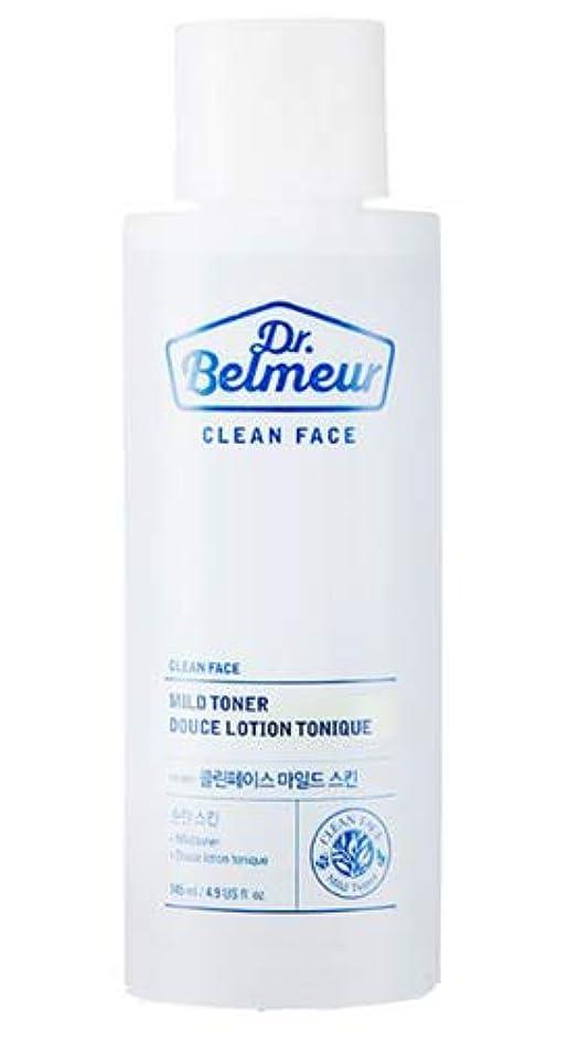 金属導体心理的に[ザ?フェイスショップ] THE FACE SHOP [ドクターベルモ クリーンフェース マイルド トナー 145ml] (Dr.Belmeur Clean Face Mild Toner 145ml)