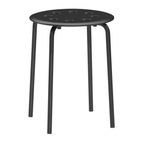 RoomClip商品情報 - MARIUS IKEA スツール イス ブラック