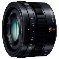 パナソニック 【マイクロフォーサーズ】LEICA DG SUMMILUX 15mm/F1.7 ASPH.(ブラック)