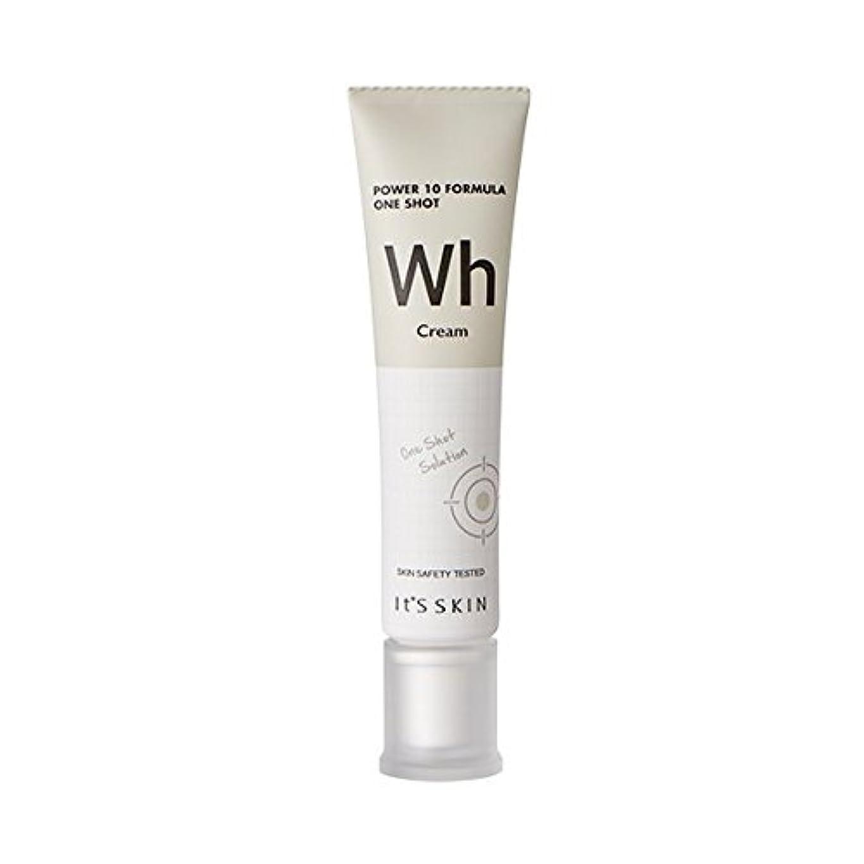 溶けたエッセイトラップ[New] It's Skin Power 10 Formula One Shot Cream (Wh) / イッツスキンパワー10 フォーミュラワンショットクリーム [並行輸入品]