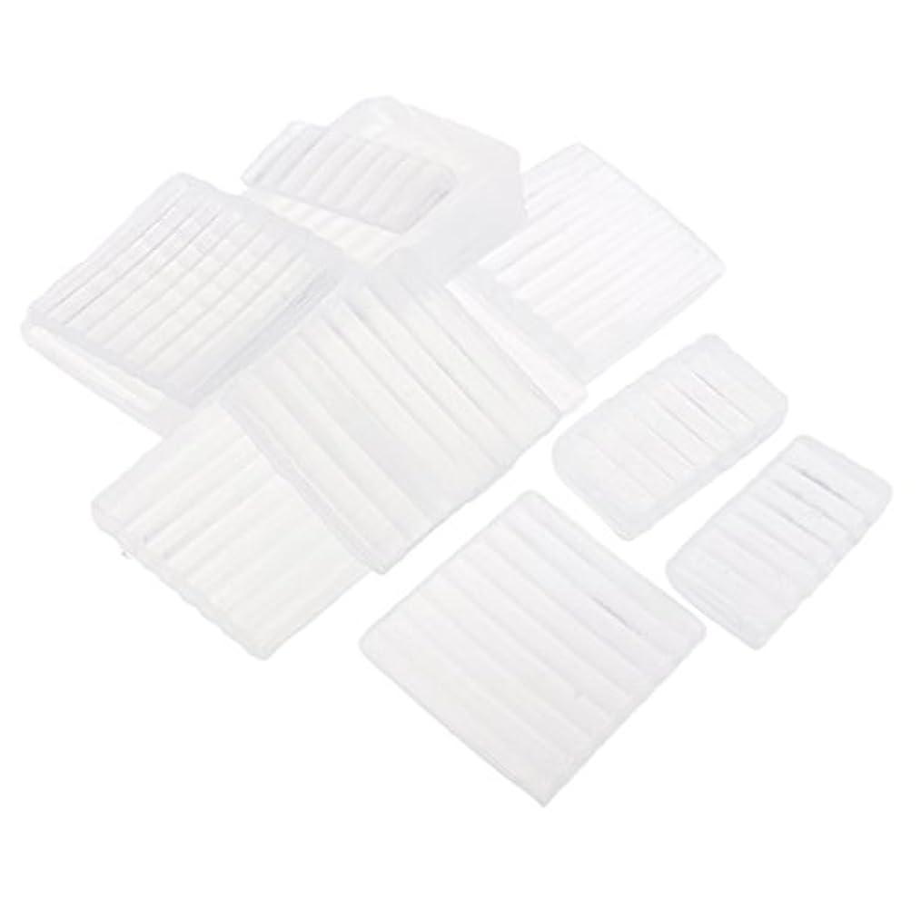 三角形衝突コースグラディスホワイト 透明 石鹸ベース DIY 手作り 石鹸 材料 約500g
