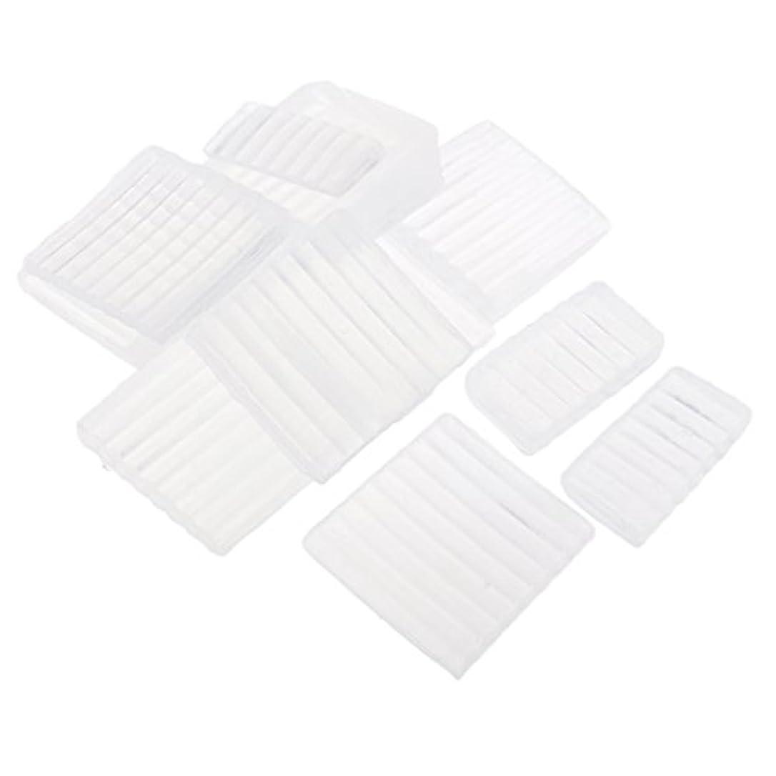 毎週執着半導体ホワイト 透明 石鹸ベース DIY 手作り 石鹸 材料 約500g