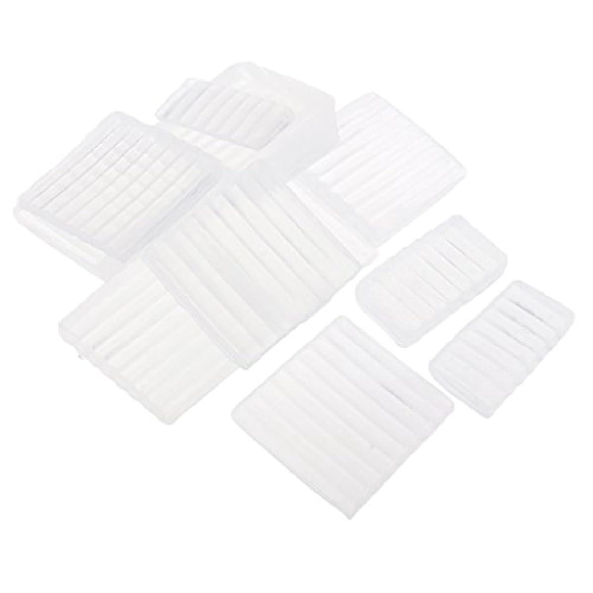 プレミアム加害者大声でホワイト 透明 石鹸ベース DIY 手作り 石鹸 材料 約500g