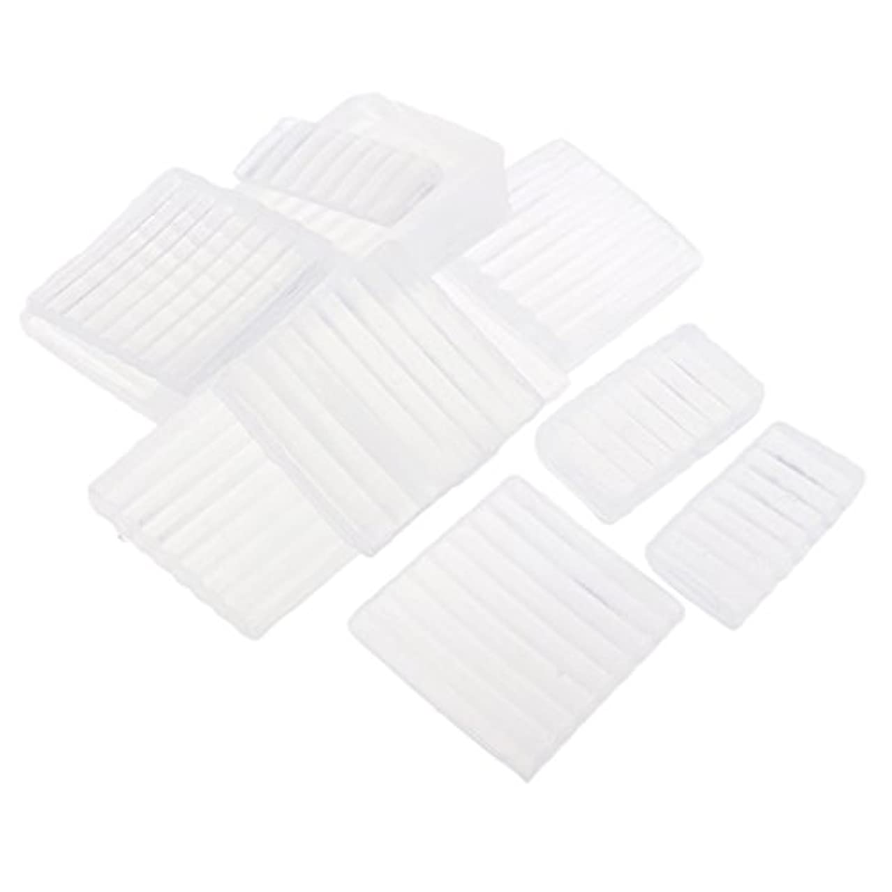 花輪花嫁異常ホワイト 透明 石鹸ベース DIY 手作り 石鹸 材料 約500g